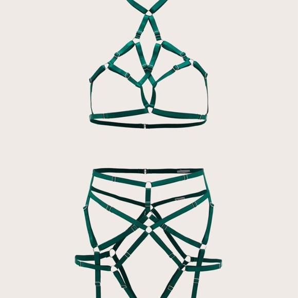 Shein strappy lingerie